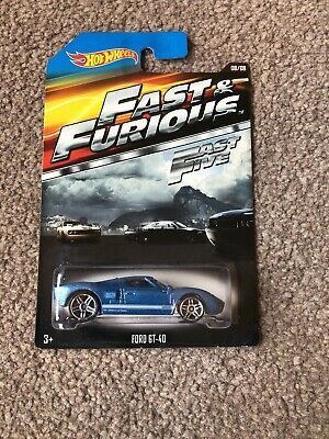 Hot Wheels Fast & Furious Fast Five Ford GT-40 Brand New Sealed • 2.55£