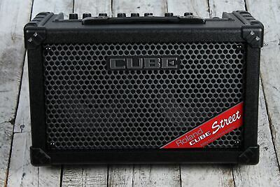 AU376.99 • Buy Roland CUBE Street Battery Powered Stereo Electric Guitar Combo Amplifier Black