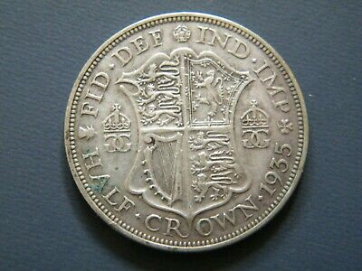 Silver Half Crown George V Coins Choice Of Year 1920 To 1936 • 6£
