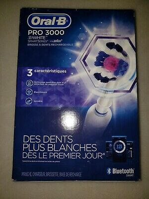 AU113.62 • Buy Oral-B Pro 3000 Rechargeable Toothbrush SmartSerie Bluetooth (4I)