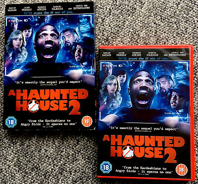 A Haunted House 2 (DVD) (UK RELEASE) (REGION 2)  With Slipcover,  Free UK Post • 5.17£