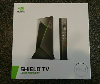 $ CDN339.66 • Buy NVIDIA Shield Android TV Pro 4K HDR Streaming Media Player HD 2019 Plex 3gb 16gb