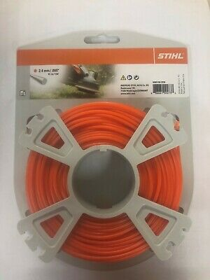 £14.95 • Buy STIHL STRIMMER LINE 2.4mm X 41M FOR PETROL STRIMMERS WIRE CORD HEAVY DUTY