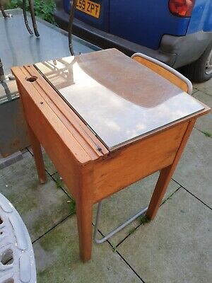 Vintage School Desk & Chair • 50£