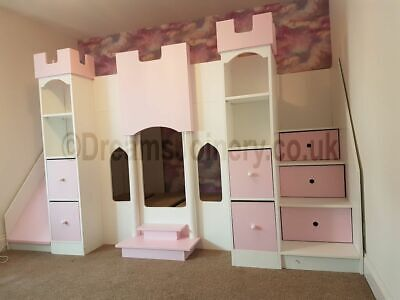 Abbotsbury Castle, Prince Or Princess Bunk Or Cabin Bed • 700£
