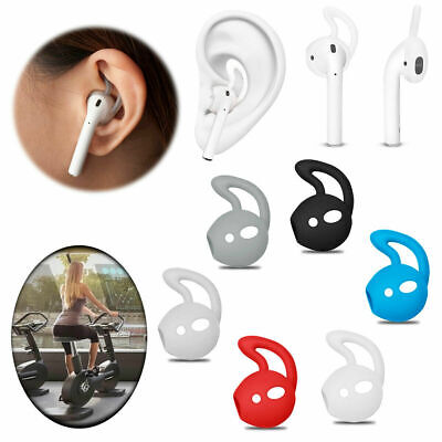 $ CDN7.56 • Buy Soft Rubber Ear Hooks Earbud Holder Cover For Apple AirPods Air Pod Accessories