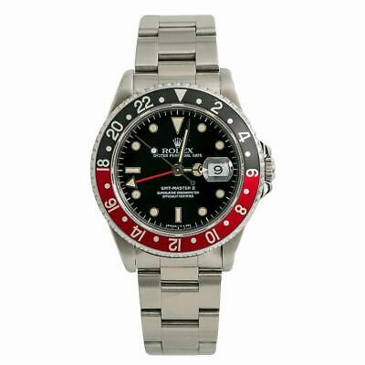 $ CDN12675.35 • Buy Rolex GMT-Master II 16710 Mens Automatic Watch Coke Bezel Stainless Steel 40mm