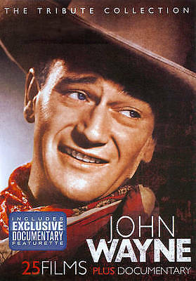 $3.99 • Buy JOHN WAYNE Tribute Collection 4-DVD -  25 Films + Documentary Featurette *NEW*