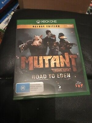 AU29.95 • Buy Mutant Year Zero Road To Eden Deluxe Edition Xbox One New Not Sealed AU