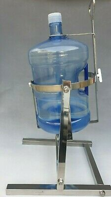 $ CDN201.37 • Buy 5 Gallon Water Bottle Pouring Stand Dispenser All Parts Made W/ Stainless Steel