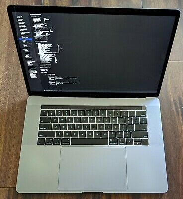 $1150 • Buy 15  Apple MacBook Pro 2019 TOUCH 2.6GHz 6-Core I7 16GB RAM 256GB SSD APPLECARE+