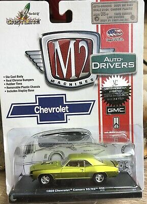 $10 • Buy 1/64 M2 Drivers 1969 Chevrolet Camaro Ss/rs Green/gold