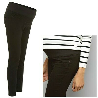Maternity New Look Under Bump Skinny Jeggings Black Sizes 8 - 20 CURRENT LINE • 9.99£