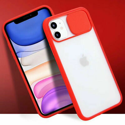 Slide Camera Lens Protector Soft Shockproof Case Cover For IPhone 11 Pro XR 8 7 • 3.49£