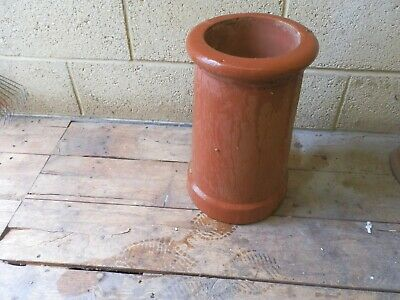 Old Terracotta Clay Chimney Pot • 15£