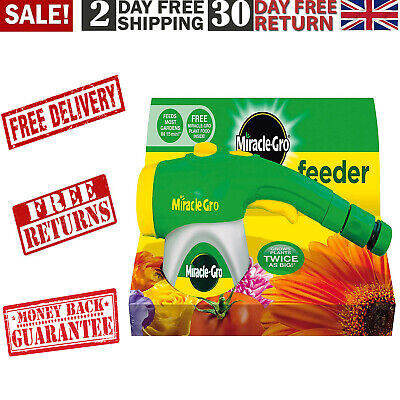 Miracle-Gro Feeder Filled With All Purpose Soluble Plant Food Plant Growth • 13.34£