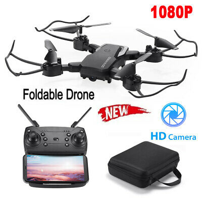 $45.99 • Buy Mini Drone HD Camera WiFi Fpv Aircraft Foldable RC Quadcopter Selfie Drone Toy