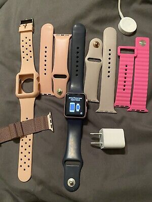 $ CDN77.44 • Buy Apple Watch 38mm-Rose Gold With 6 Bands
