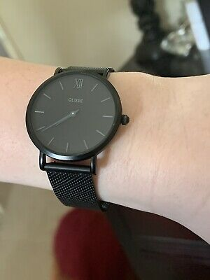 AU100 • Buy Ladies Cluse Watch - Black / Grey