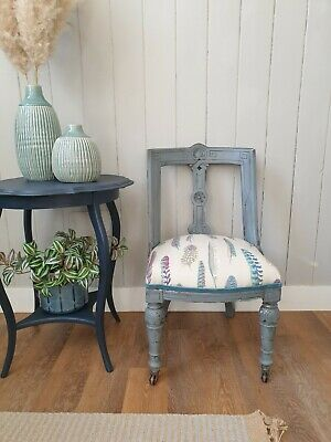 £285 • Buy Victorian Painted Re-Upholstered Chair