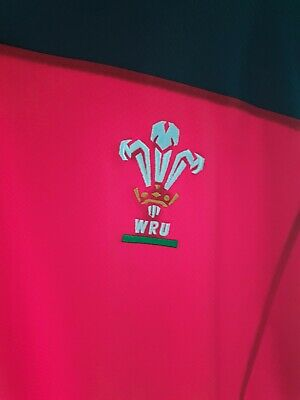 Under Armour Wales Rugby Union 2019-20 Polo Shirt Size 2XL  • 5£