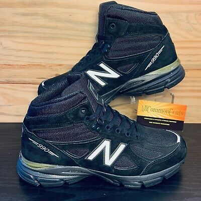 $79.99 • Buy New Balance 990V4 Men's Suede Trail Running Mid Shoes Boots Size 8 Black NEW