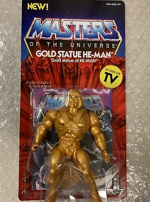 $33.99 • Buy Super7 Unpunched MOC Retro Masters Of The Universe GOLD STATUE HE-MAN