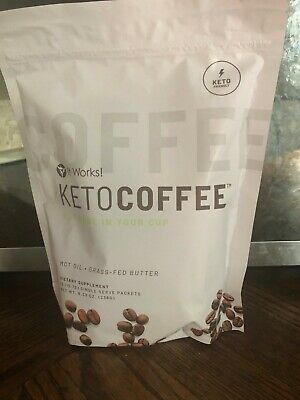 $25 • Buy Brand New It Works New And Improved Keto Coffee 15 Packets