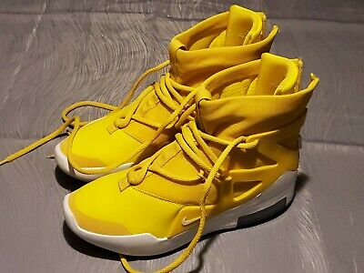$5.50 • Buy Nike Air Fear Of Gods 1 - Yellow - Men's Size 7