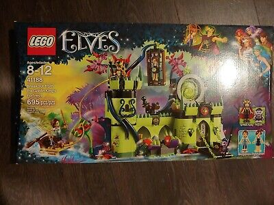 £63.72 • Buy LEGO Elves 41188 Breakout From The Goblin King's Fort 695 Pieces New In Box
