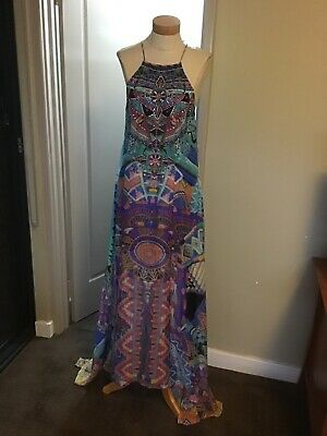 AU86 • Buy Gorgous Camilla Sheer Overlay Dress Size S Bnwt