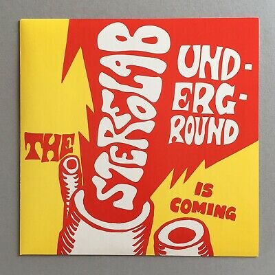 "Stereolab The Underground Is Coming Vinyl 7"" Duophonic D-UHF-D24 1999 MINT • 14.99£"