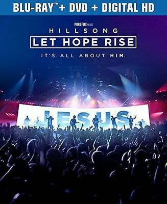 $6.39 • Buy Hillsong - Let Hope Rise (Blu-ray/DVD, 2016, 2-Disc Set)