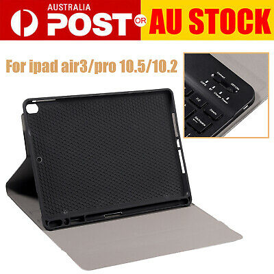 AU45.85 • Buy PU Leather Keyboard Case Pencil Holder Stand For Apple Ipad Air3/pro10.5/10.2 AU