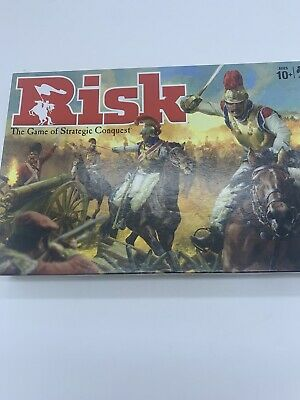 $22.99 • Buy Risk The Game Of Strategic Conquest Hasbro Gaming New Open Box