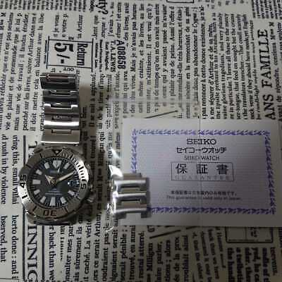 $ CDN1886.34 • Buy Seiko Prospex SBDC025 Date Divers Black Monster Automatic Mens Watch Auth Works