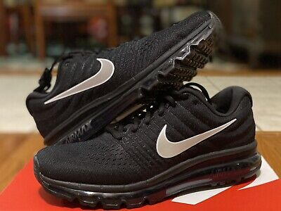 $139.99 • Buy Nike Air Max 2017 Black Anthracite White 849559-001 Men's Running Shoes Size 9