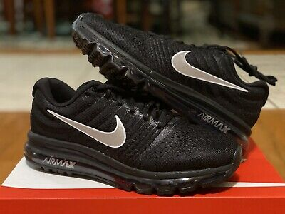 $139.99 • Buy Nike Air Max 2017 Black Anthracite White 849559-001 Men's Running Shoes Size 8.5