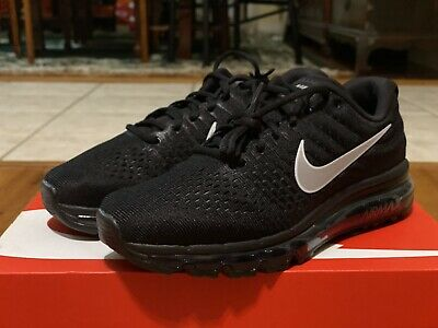 $139.99 • Buy Nike Air Max 2017 Black Anthracite White 849559-001 Men's Running Shoes Size 8