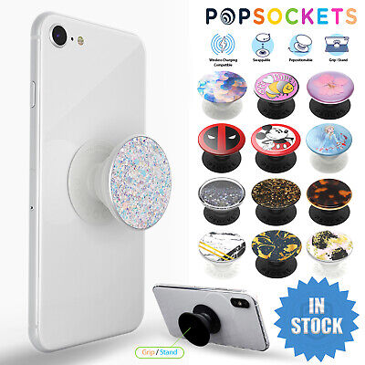 AU23.95 • Buy Genuine PopSockets PopGrip Universal Grip Gen 2 Swappable Phone Car Holder Stand