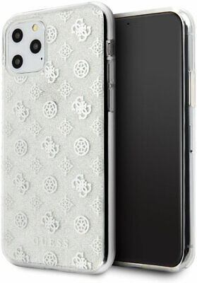 Genuine Guess Glitter 4G Peony Case Cover For Apple IPhone 11 Pro In Silver • 14.96£