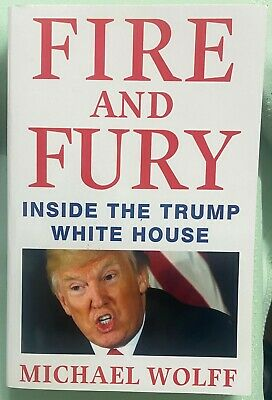 AU9 • Buy Fire And Fury - Inside The TRUMP White House By Michael Wolff (Paperback, 2018)