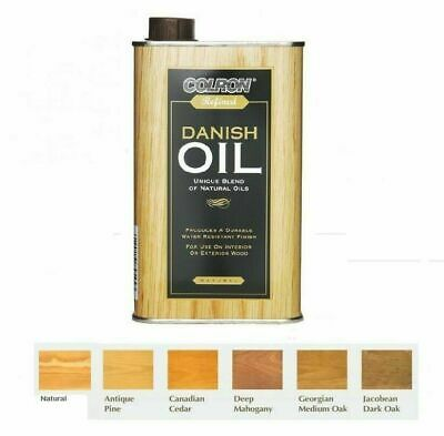 Colron Refined Danish Oil Interior & Exterior Wood Blend Of Natural Oils - 500ml • 17.95£