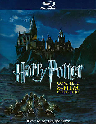 $32.99 • Buy Harry Potter: Complete 8-Film Collection (Blu-ray Disc, 2011, 8-Disc Set)