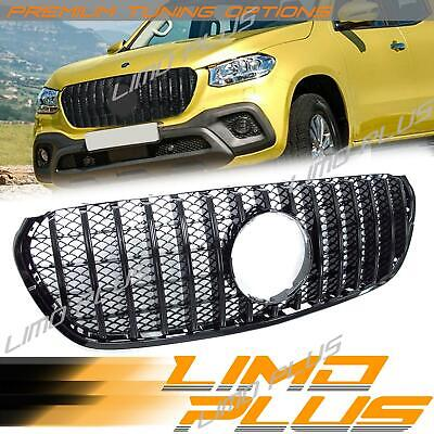 AU359.99 • Buy Gloss Black Front Bumper Grille Grill For Mercedes Benz X-Class 470 Ute Pick Up