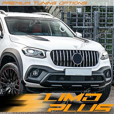 AU359.99 • Buy Silver Chrome Front Bumper Grille Mesh For Mercedes Benz X-Class Pick Up 470 Ute