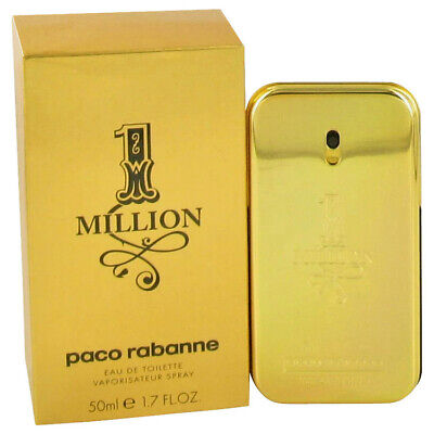 $ CDN67.76 • Buy 1 Million By Paco Rabanne 1.7 Oz 50 Ml EDT Cologne Spray For Men New In Box