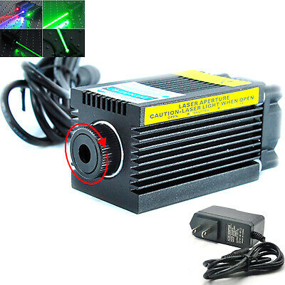 AU199.11 • Buy Focusable 515nm 520nm 1W 1000mw Dreen Dot Spot Laser Module W/12V Adapter