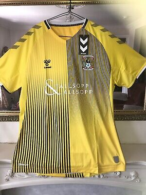 """£34.99 • Buy COVENTRY CITY  FC """"AWAY"""" FOOTBALL SHIRT Size 2XL / BRAND NEW WITH TAGS"""