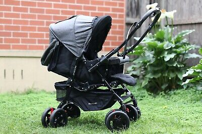 AU180 • Buy Pre-Owned Steelcraft Accent Reverse Handle Travel Baby Stroller
